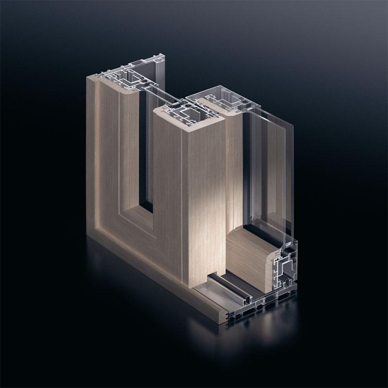Sch 252 Co Aluminium Wooden Windows And Doors Nuova F Lli